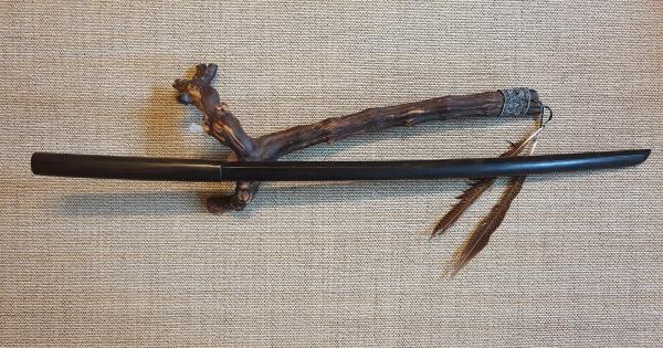 Bokken aus Ebenholz in der Itto-Ryu-Form