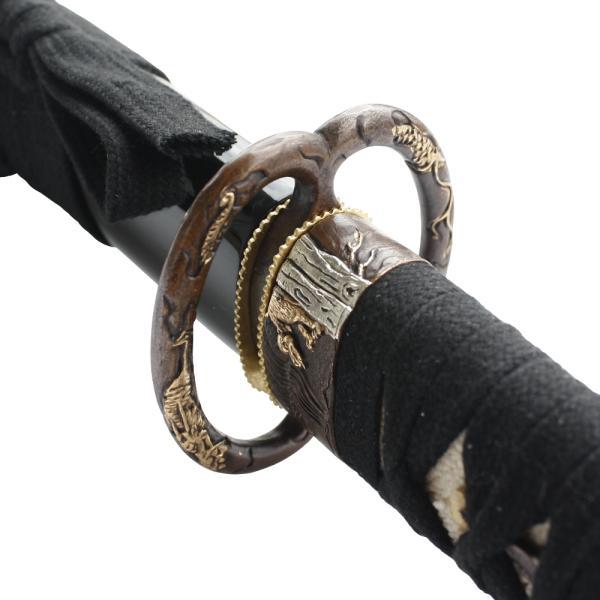 John Lee Musashi Kazara Katana - Samuraischwert scharf geschliffen