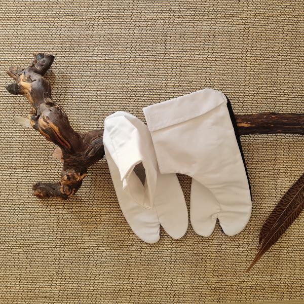 Tabi-Socken Weiß/Weiß - Budo-Bekleidung