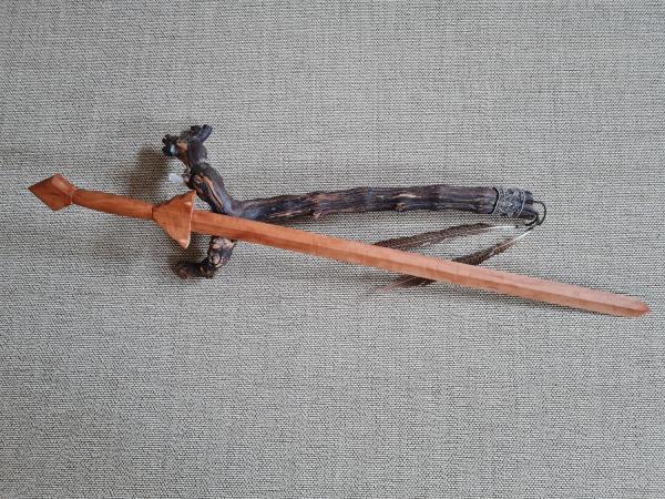 Tai Chi Schwert aus Birnenholz - 75 cm